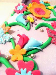 Fantasy cake - birthday cake