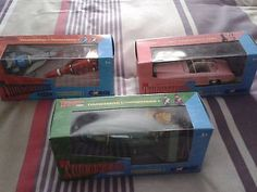 #Corgi #thunderbirds #1,2,3,4 and fab 1 new,  View more on the LINK: http://www.zeppy.io/product/gb/2/252507881160/