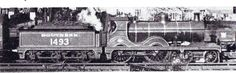 Steam Locomotives of a More Leisurely Era 1901 – Wainwright 4-4-0 South Eastern & Chatham Railway