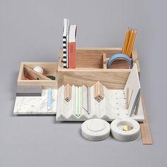 Shkatulka – A Beautiful Storage Box by Lesha Galkin via Inspiration Hut Marble Wood, Inspiration Design, Wall Organization, Office Accessories, Design Projects, Furniture Design, Decoration, Home Decor, Secret Box