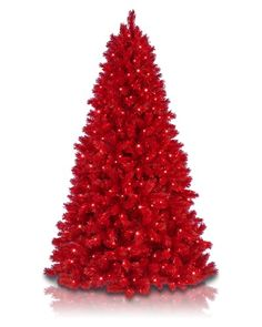 Give your home a bold and beautiful look this holiday season by adorning it in our Lipstick Red Christmas Tree.