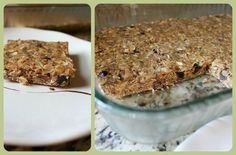 connect with the colyers: homemade granola bars