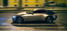 """Filmul cu numărul 24 din seria James Bond, """"Spectre"""", marchează un moment-cheie în relaţia care datează de cinci decenii între superproducţia cinematografică şi producătorul auto Aston Martin. Noutatea, însă, este că, pentru cel mai recent titlu din franciza Bond, Aston Martin a creat o maşină specială, o reinterpretare a modelului... Aston Martin Db10, Aston Martin Sports Car, Aston Martin Vulcan, Dune, James Bond Cars, Automobile Companies, Luxury Cars, Cool Pictures, Vehicles"""