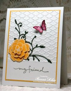 QFTD159 Sunny Secret Garden by bon2stamp - Cards and Paper Crafts at Splitcoaststampers