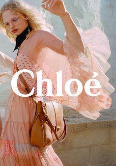 Frederikke Sofie for the Chloé Fall/Winter 2016 ad campaign photographed by Theo Wenner
