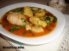 Papricas de pui - Bucataria cu noroc Thai Red Curry, Noroc, Ethnic Recipes, Red Peppers