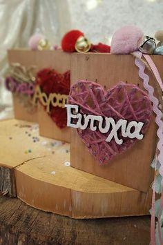 Vintage Crafts, Wood Slices, Lucky Charm, Xmas, Christmas Ideas, String Art, Sticks, Diy And Crafts, Joy