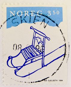 ♥ ◙ Norway, Postage Stamp. ◙