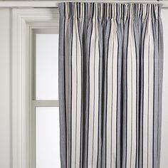 John Lewis Dorset Stripe Pencil Pleat Curtains