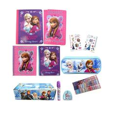 Disney Frozen Stationary Set - Frozen Composition Book and School Supplies