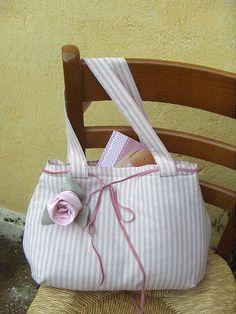 Tilda bag by countrykitty, via Flickr