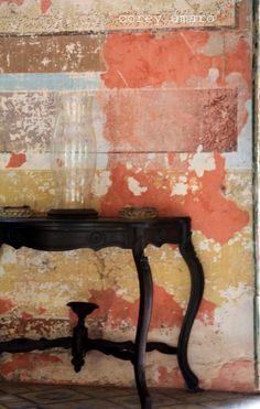 Haceinda peeling wall effect, colours