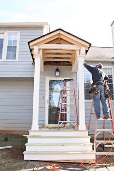 Building A Front Portico