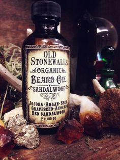 Old Stonewalls Beard Oil - MystiqueApothecary
