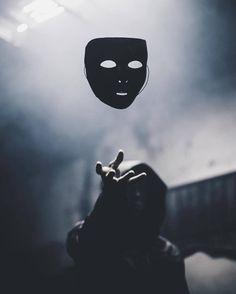 Fresh poison. Taking the mask off.