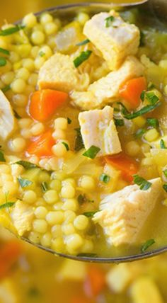 Cold Buster Chicken and Pasta Soup : cookingclassy
