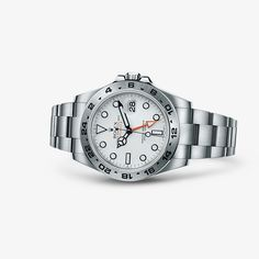 The Oyster Perpetual Explorer II is the watch of choice when adventure is second nature.