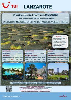 Oferta #smart para viajar a #Lanzarote en #diciembre