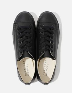 Margaret Howell Leather Sneakers