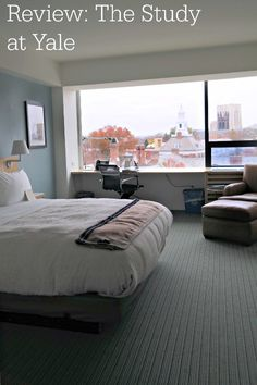 A Review of the Study at Yale Hotel in New Haven, CT