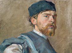 Stanisław Wyspiański, Autoportret | 1892-94, Muzeum Narodowe we Wrocławiu