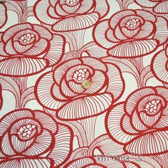 Heavy Cotton Canvas - Rose, by Minna Fabrics, on Etsy