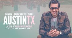 Max Amini Live in Austin - Authentically Absurd Tour • Gongago Austin