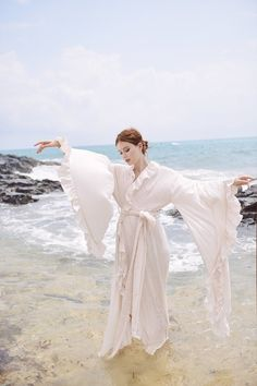 Long Gown Dress, Long Gowns, Floor Length Gown, French Seam, Long Sleeve Wedding, Dressing, Summer Dresses, Wedding Dresses