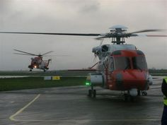 The Department of Marine have a Search & Rescue facility based at Shannon and are responsible for saving many lives annually. The picture below shows the old Sikorsky 61 in the background with its future replacement the Sikorsky 92 to the fore. Search And Rescue, No Response, Aircraft, Old Things, Future, Pictures, Life, Photos, Aviation