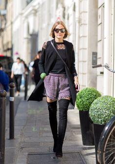 Olivia Palermo Con botas altas