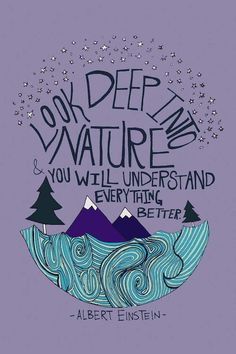 Trademark Art Trademark Fine Art Albert Einstein Nature Canvas Art by Leah Flores inspiration desenho Image in QUOTES collection by MICKEY on We Heart It Yoga Quotes, Words Quotes, Wise Words, Life Quotes, Lyric Quotes, Movie Quotes, Namaste Quotes, Namaste Art, Quotes Images