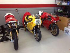 3 Ducati Sportbikes | Bike-urious