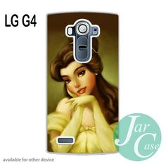 Beautiful Princess Belle in Disney Phone case for LG G4 and other cases