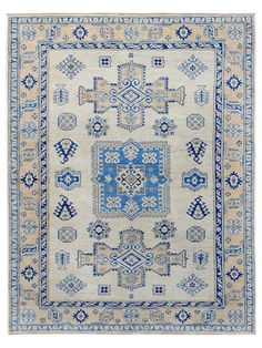 """Shirvan Hand-Knotted Rug (4'10""""x6'5"""") by Mehraban Rugs on Gilt Home"""
