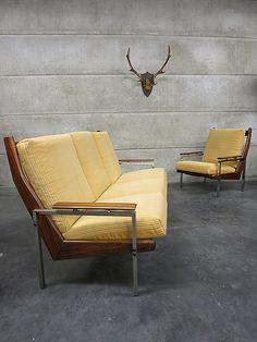 Mid century vintage design lounge set Rob Parry www.bestwelhip.nl