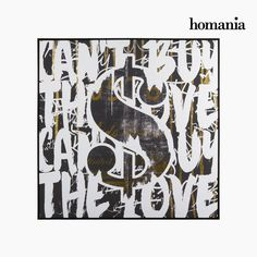 Dollaro su tela by Homania Homania 77,83 € https://shoppaclic.com/quadri-e-stampe/10565-dollaro-su-tela-by-homania-7569000900527.html