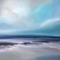Original fine art gallery by Michael Claxton. Oil and acrylic paintings sitting between realism and abstraction, landscapes of the natural world Abstract Canvas Art, Seascape Paintings, Cool Paintings, Fine Art Gallery, Abstract Landscape, Art Oil, Sheffield, Strand, Watercolour