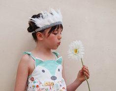 Fox vestido para bebés para el verano y bodas por wildthingsdresses