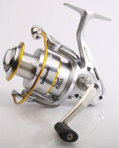 Iridium Metallix son buenos carretes de pesca que incorporan 7 rodamientos de bolas de acero inoxidable, uno es de anti retroceso infinito. Se envía con una bobina de grafito extra.