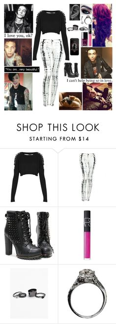 """""""❤ I know we'll be alright child, just close your eyes and see I'll be by your side any time you're needing me ❤"""" by blueknight ❤ liked on Polyvore featuring Topshop, Hudson Jeans, NARS Cosmetics, Chanel, Free People and MusicSkins"""