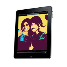 Create your own digital silkscreen print, just like Andy Warhol would have with the Warhol: D.I.Y. POP app from The Andy Warhol Museum.