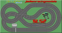 slot car track design - Google Search