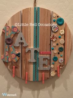 Perfect gift for the child/teen in your life! Customize one today at littlebelloccasions.etsy.com & at scottsmarketplace.com/store/littlebelloccasions