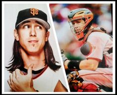 Tim Lincecum / Buster Posey. SF Giants.