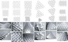 Folding Patterns by Daniel Piker