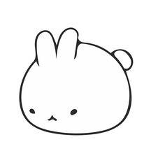 Cute Bunny Icon Clothing and Merchandise Icon Clothing, Manga, Cute Bunny, Plushies, Chibi, Hello Kitty, Kawaii, Stickers, Random Stuff