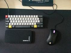 Peripherals I Poker II with MX-Browns, Zowie Evo EC1