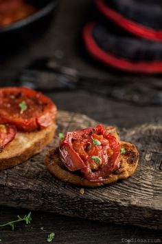 Roasted Tomatoes With Balsamic Vinegar Recipe |