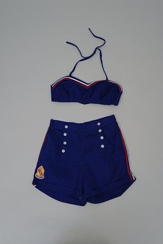 Sailor Moku Swimsuit, 1940s. From the collections of the University of Hawaii Museum