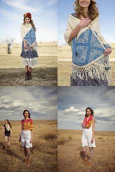 New Favorites: Cheerful shoulderwear from Knitscene Accessories 2013